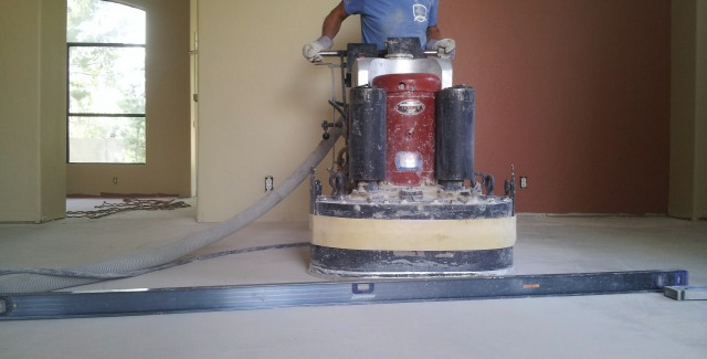 Floor Grinding and Leveling Concrete Contractors Belville Concrete grinds, resurfaces concrete, for tile flooring, wood flooring and carpet. If your floor is cracked the likelyhood is that we can help fix and resurface your floor. Call the pro's for all your grinding, floor leveling and concrete repair need. Thank you....
